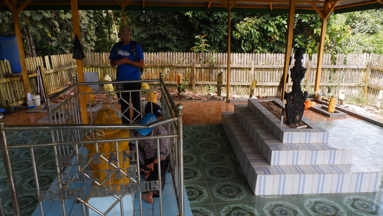 Dokumentasi Makam Sultan Amiril Mukminin di Kampung Gurimbang (2)